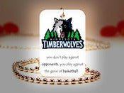 Image of Minnesota Timberwolves NBA Necklace