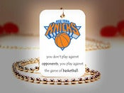 Image of New York Knicks NBA Necklace