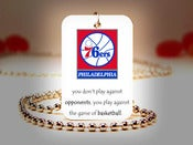Image of Philadelphia 76ers NBA Necklace
