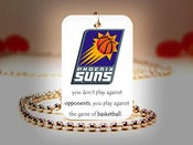 Image of Phoenix Suns NBA Necklace