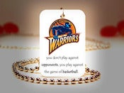 Image of Golden State Warriors NBA Necklace