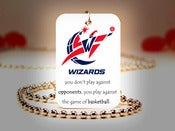 Image of Washington Wizards NBA Necklace