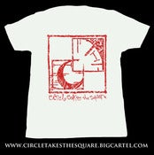 Image of CTTS Corporate I.D. Logo Shirt White/Red Ink
