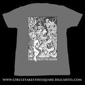 "Image of ""Angel of the Spires"" - Charcoal Shirt"