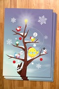 Image of Cyclopee Xmas Tree - Holiday Card 8 Pack