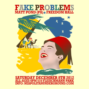 Image of INDIE/PUNK: Fake Problems, Matt Pond (PA), & Freedom Hall