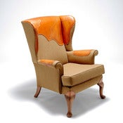 Image of Alexena Cayless: Brogue Wingback Armchair