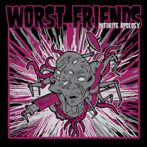Image of Worst Friends - Infinite Apology (CD-R)