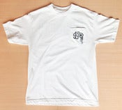 Image of Freshly Squeezed 'Plaque' Pocket T - White