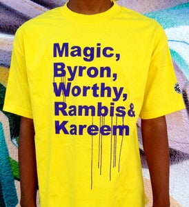 Image of LAKERS '85 SHOUTOUT