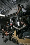 Image of Mitch Lucker - Forklift Party - Legacy Metallic Print. 2 left