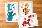 Image of Arla Girls Mini Prints