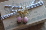 Image of pretty in pink earrings
