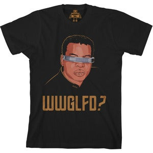 Image of what would geordi laforge do tee