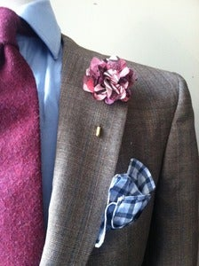 Image of Multi Mauve Lapel Pin