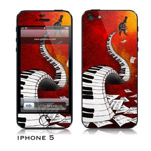 Image of Iphone 5 skin - &quot;Musician&quot;