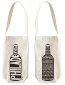 Image of Philadelphia Neighborhoods Wine Tote