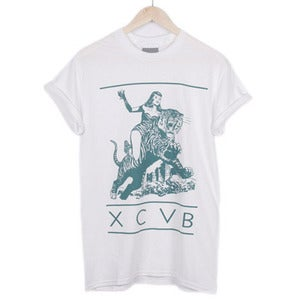 Image of XCVB - Bitch Jungle White
