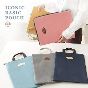 Image of Iconic basic pouch A4