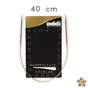 Image of Addi Premium 40 cm -Agujas circulares fijas / Fixed knitting needles