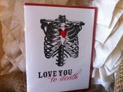 Image of Love You to Death Card