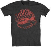 Image of Heather Charcoal Vintage Car T-Shirt *FREE GRAB BAG T-SHIRT INCLUDED*