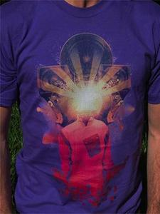 Image of Kraky #2 Purple T-shirt - Men and Women's sizes