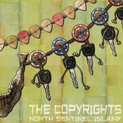 Image of The Copyrights - North Sentinel Island LP (Black or Brown Vinyl)