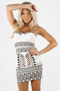 Image of TRIBAL PARTY DRESS 