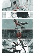 Image of Winter Soldier #6, Page 14 Monoprint