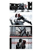Image of Winter Soldier #7, Page 6 Monoprint
