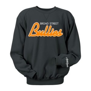 Image of Broad Street Bullies Crewneck (Black)