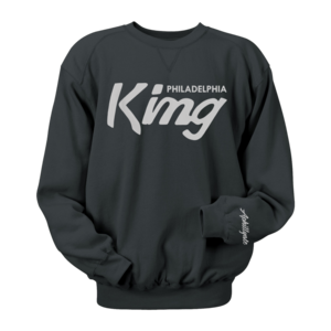 Image of Philadelphia King Crewneck (Black)