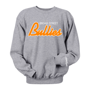Image of Broad Street Bullies Crewneck (Grey)