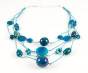 Image of Fiesta Necklace Blue