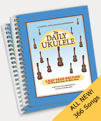 Image of The Daily Ukulele & Leap Year Edition Song Books