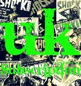 Image of Shock Horror Magazine Subscription UK + FREE DVD