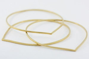 Image of 18k gold vermeil joydrop bangles