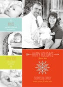 Image of Option 4: One Sided Christmas Card, from a Template + option to print yourself
