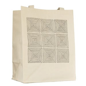 Image of Squares Grocery Tote