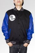 Image of TL Signature Jacket Black/Royal Blue 