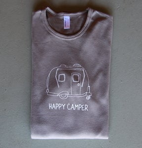 Image of Happy Camper Women's Thermal Tee