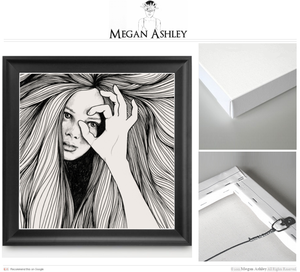 Image of Megan Ashley Coffman | Original Eye Illustration