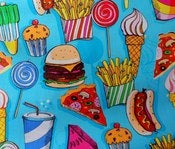 Image of Junk food tote!