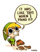 Image of LOZ: It was like this when I found it! (8.5&quot;x11&quot;)