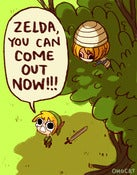 Image of LOZ: You can come out now!! (8.5&quot;x11&quot;)