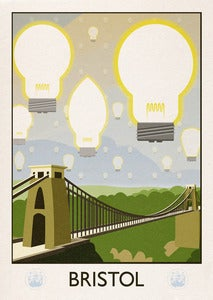 Image of Bristol - city of ideas (signed print)