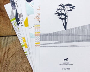 Image of SALE: 2013 Vortex Letterpress Calendar Ready to Hang