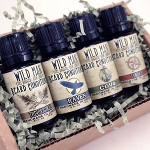 Image of Wild Man Beard Conditioner Sample Pack - 15ml