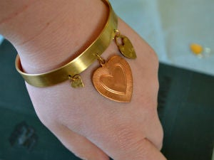 Image of Modern Heart Charm